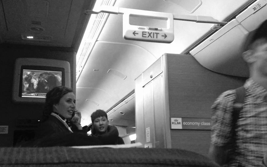 KLM Flight Attendant