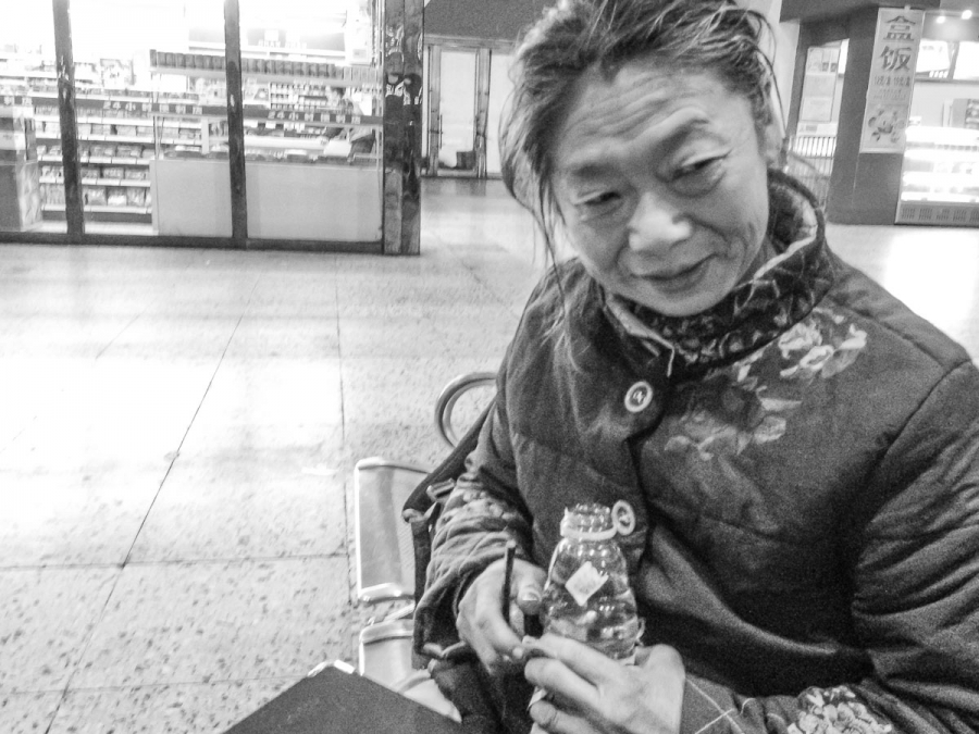 Old Woman in China
