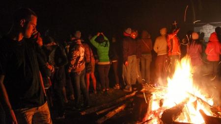 Sagada Bonfire