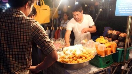 Sexy Thai Vendor