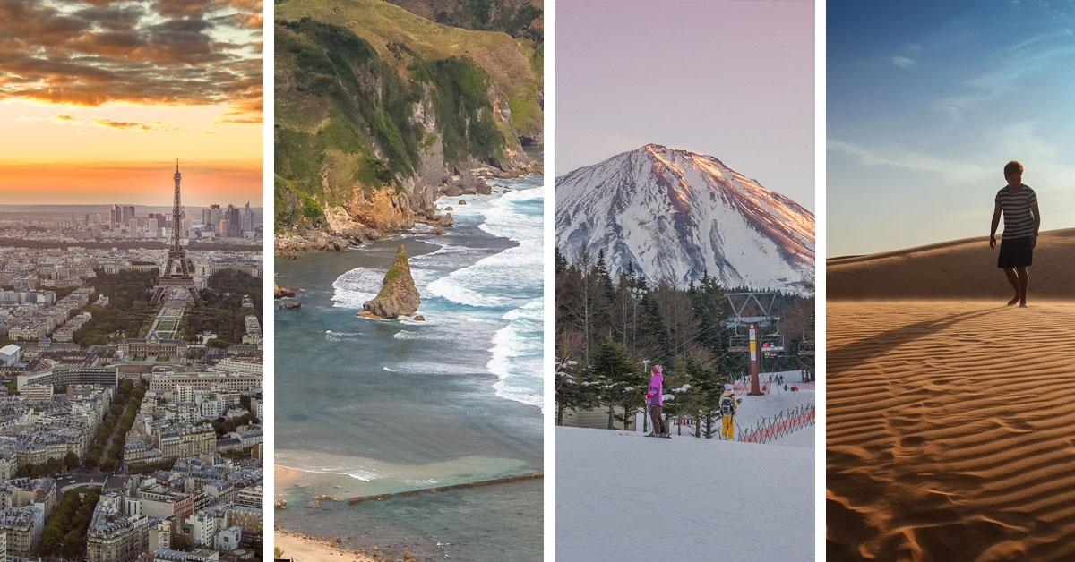 Top Places to Visit in 2015