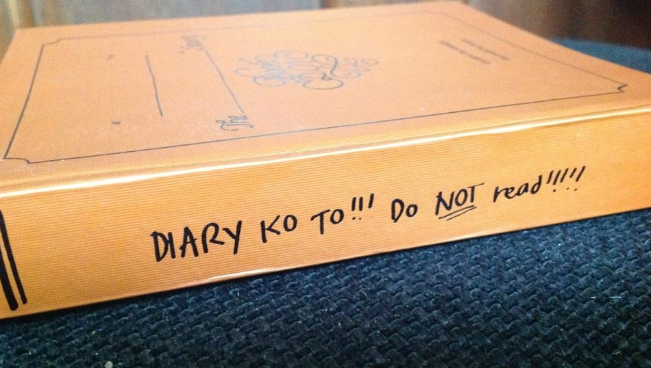 diary do not read