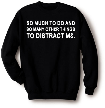distraction shirt
