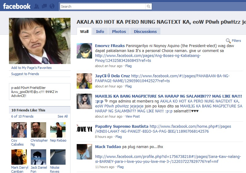 Top 20 Funniest Filipino Statement Fan Pages on Facebook – Part 1