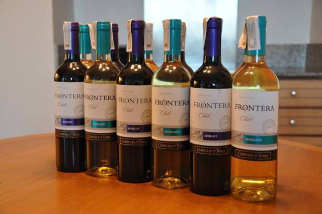 Thanks to Fly Ace Corporation for the Frontera wines from Chile. Photo by Melo Villareal