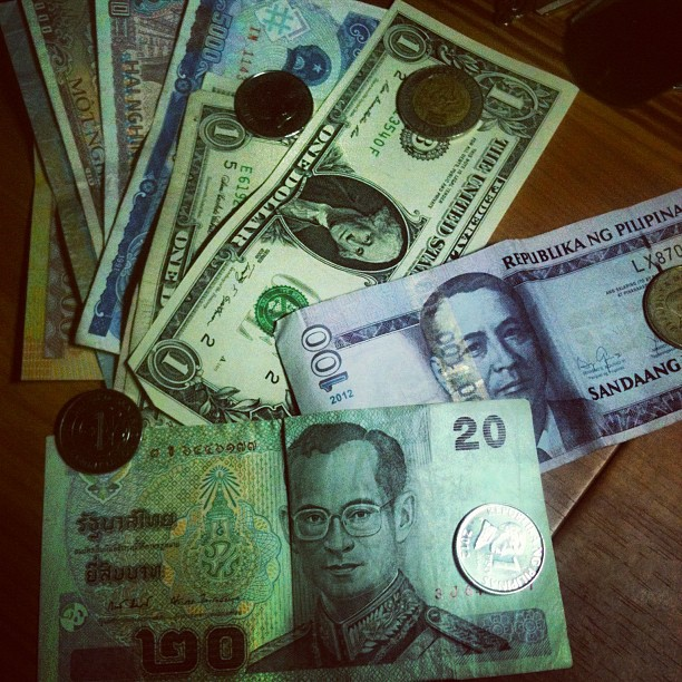 Currency Thai Baht Philippine Peso Us Dollar