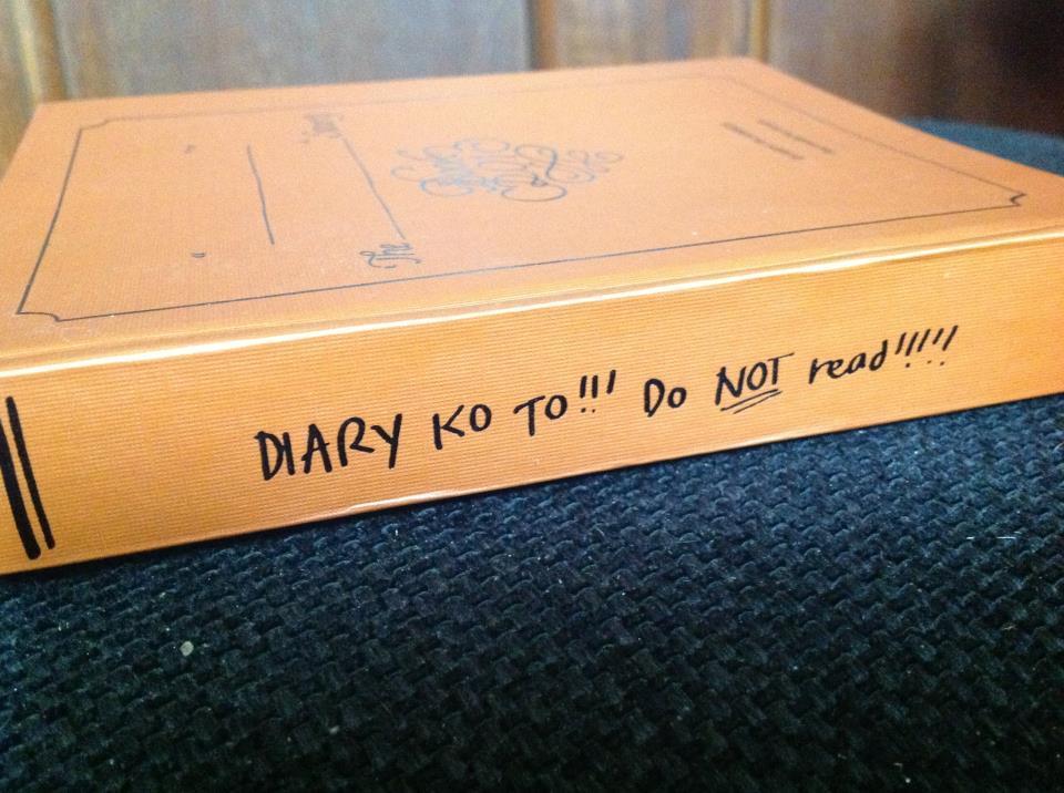 diary warning