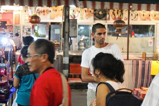 A random hottie at Chiang Mai Night Market