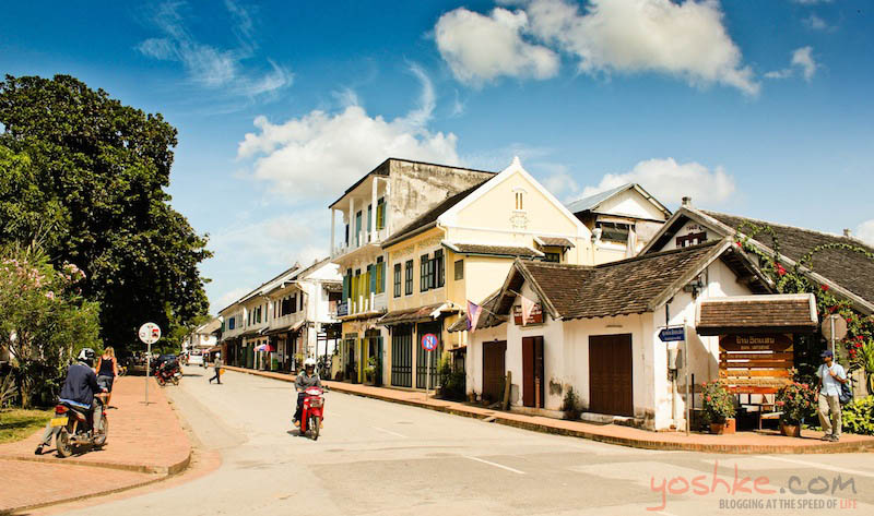 The sleepy town of Luang Prabang, Laos